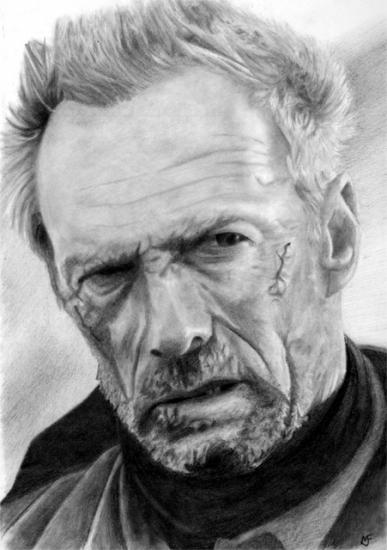Clint Eastwood par marcusfearnley
